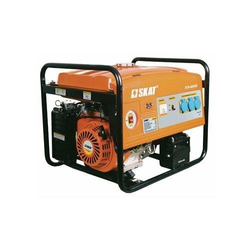 Бензиновый генератор SKAT УГБ-6000 (6000 Вт)