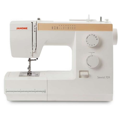 Швейная машина Janome Sewist 709, белый