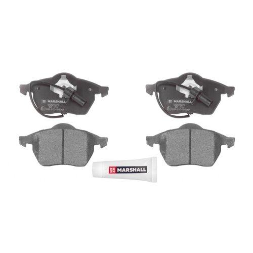 Дисковые тормозные колодки передние Marshall M2620676 для Audi A4, Audi A6, Volkswagen Passat (4 шт.)