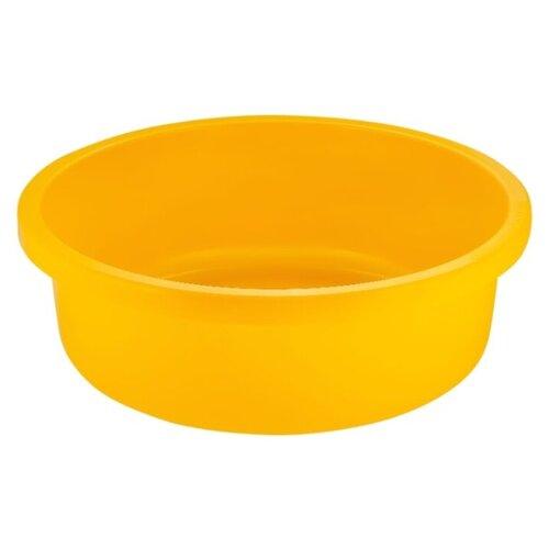 Таз Plast Team PT1167 18 л желтый