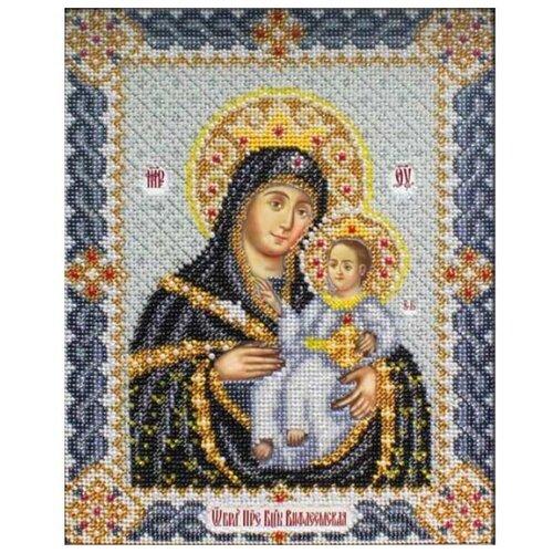 Купить Паутинка Набор для вышивания бисером Пресвятая Богородица Вифлеемская 25 х 19.5 см (Б1017), Наборы для вышивания
