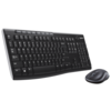 Клавиатура и мышь Logitech Wireless Combo MK270 Black USB