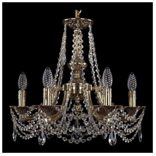 Люстра Bohemia Ivele Crystal 1771 1771/6/150/C/GB, E14, 240 Вт люстра bohemia ivele crystal 1771 1771 16 410 c gb sh37 160 e14 640 вт