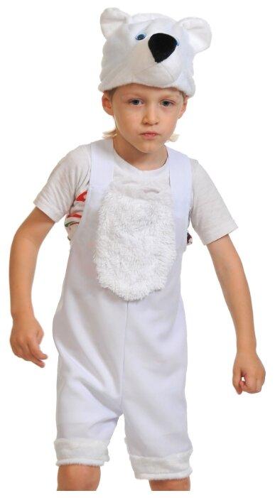 Карнавальный костюм для детей Карнавалофф Мишка северный детский, 92-122 см