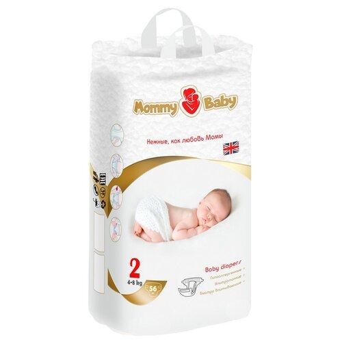 Mommy Baby подгузники 2 (4-8 кг) 56 шт.