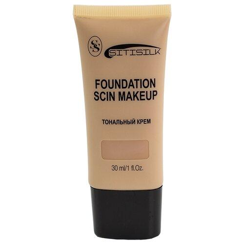 Sitisilk Тональный крем Foundation Scin Makeup, 30 мл, оттенок: 03 песочный недорого