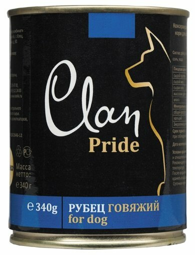 Корм для собак CLAN Pride Рубец говяжий для собак (0.340 кг) 1 шт.