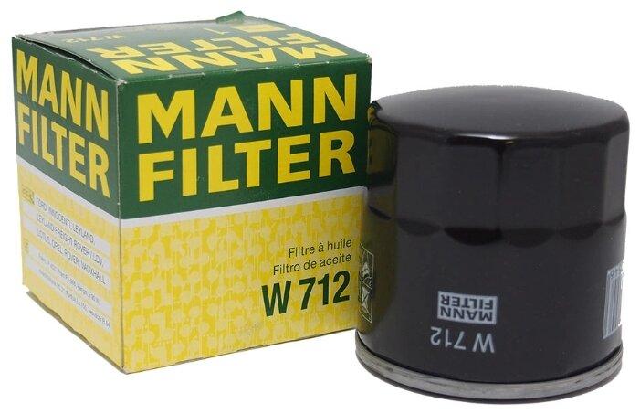 Масляный фильтр MANNFILTER W712