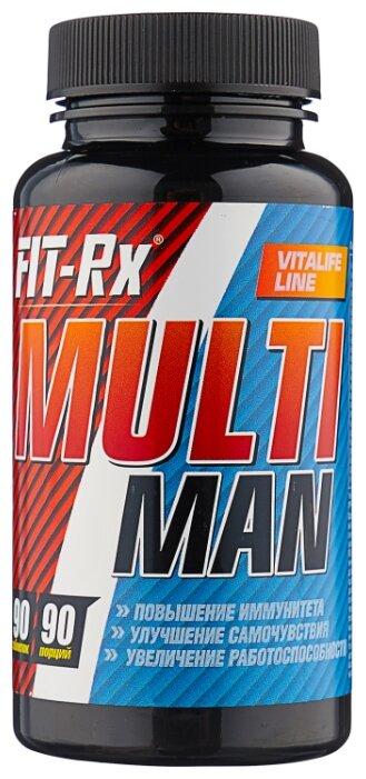 Минерально-витаминный комплекс FIT-Rx Multi Man (90 таблеток) нейтральный