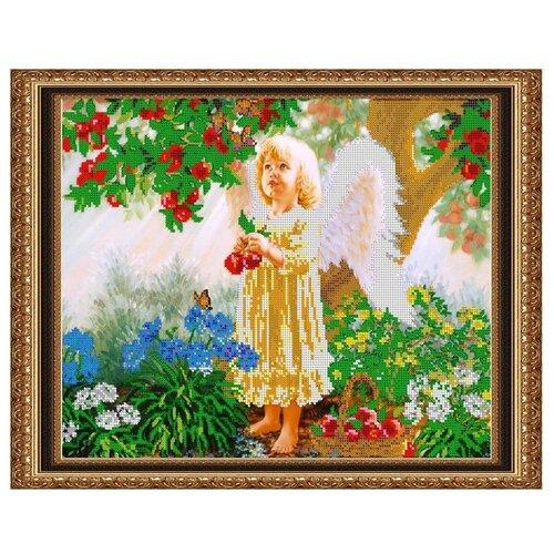 Светлица Набор для вышивания бисером Ангелочек 38 х 30 см (381)