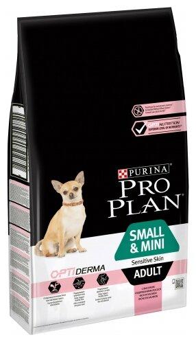 Корм для собак Pro Plan Optiderma для здоровья кожи и шерсти, лосось с рисом 7 кг (для мелких пород) — купить по выгодной цене на Яндекс.Маркете