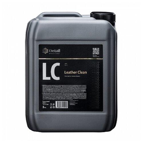 Detail Очиститель кожи салона автомобиля Leather Clean DT-0174, 5 л прозрачный fox chemie универсальный очиститель creaky clean f643 0 5 л