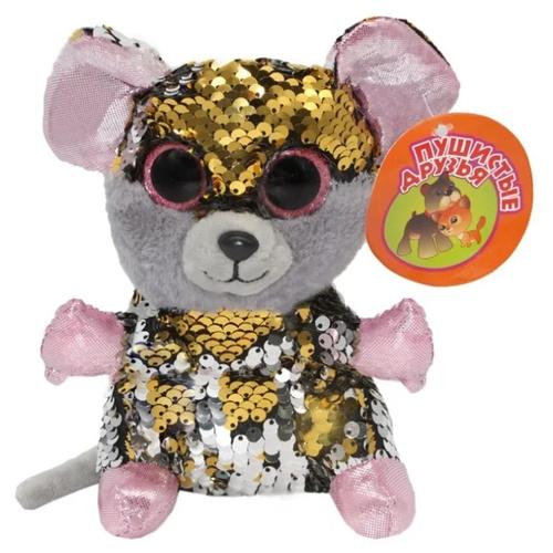 Фото - Мягкая игрушка Пушистые друзья Мышка с пайетками 15 см кмит елена пушистые друзья барашек бяша