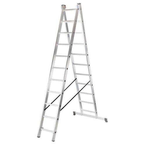 Лестница трансформер 2-секционная ВИХРЬ ЛА 2х11