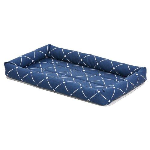 Лежак для собак и кошек Midwest Ashton 76х53х8 см синий