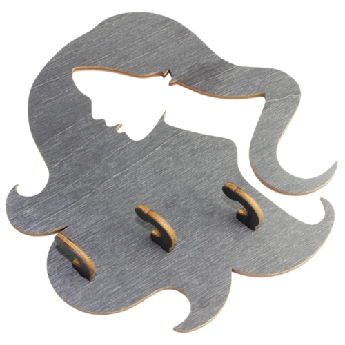 Ключница Florento 4860700 14.7x15.3 см серый