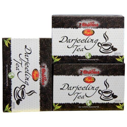 Чай черный Goldiee Дарджилинг Darjeeling Tea , 100 г (3 уп.) чай черный aroma дарджилинг ришихат 100 г