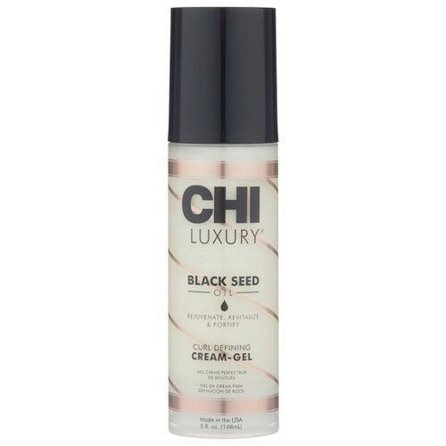 CHI Black Seed Oil крем-гель Curl Defining Cream-Gel, 147 мл chi кондиционер luxury moisture replenish black seed oil 739 мл