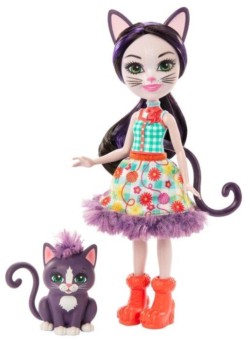 Кукла Enchantimals со зверюшкой Сиест... — купить по выгодной цене на Яндекс.Маркете
