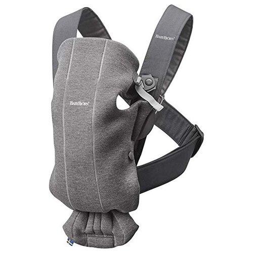 Купить Рюкзак-переноска Baby Bjorn Mini dark gray, Рюкзаки и сумки-кенгуру