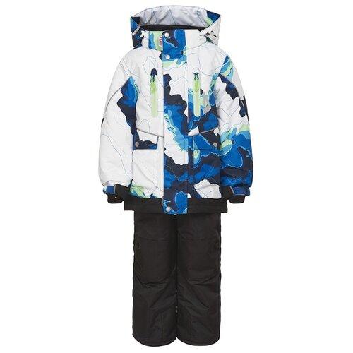 Комплект с брюками Oldos Аксель с брюками размер 152, синий_черный