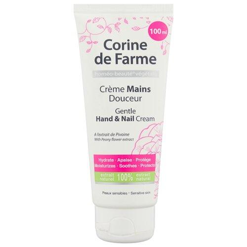 Крем для рук и ногтей Corine De Farme Нежный 100 мл шампунь corine de farme купить