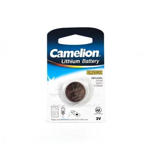 Фото - Батарейка Camelion CR2032 1 шт блистер батарейка camelion cr1216 5 шт блистер