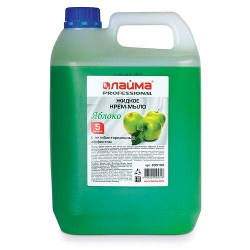 Мыло жидкое Лайма PROFESSIONAL Зеленое яблоко, 5 л