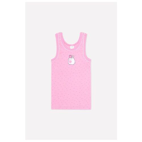 Купить Майка crockid размер 86-92, розовый, Белье