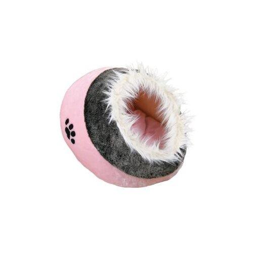 Домик для собак и кошек TRIXIE Minou Cuddly Cave 41х26х35 см розовый/серый