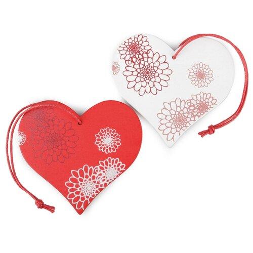 Купить Набор декоративных элементов Сердце 7 х 7 см дерево 2487106, Efco, Украшения и декоративные элементы