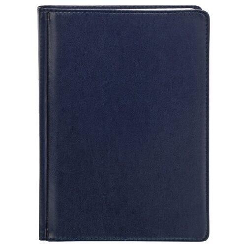 Купить Ежедневник Index Avanti недатированный, искусственная кожа, А5, 168 листов, синий, Ежедневники, записные книжки