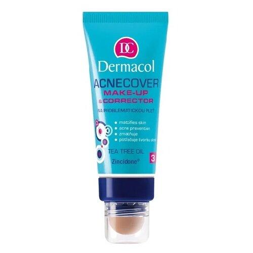 Dermacol Тональный крем Acnecover Make-Up With Corrector, 30 мл, оттенок: тон №3