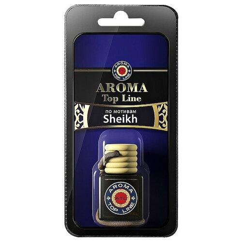 AROMA TOP LINE Ароматизатор для автомобиля 3D Aroma №007 Sheikh 6 мл