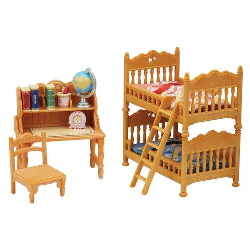 Купить Игровой набор Sylvanian Families Детская комната с двухэтажной кроватью 5338, Игровые наборы и фигурки
