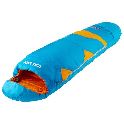 Спальный мешок ECOS Valley (детский) синий/оранжевый