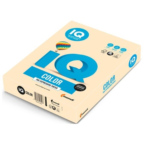 Фото - Бумага IQ color A4 CR20 160 г/м² 250 лист. кремовый 1 шт. бумага a4 250 шт iq color cr20 кремовый 1 шт