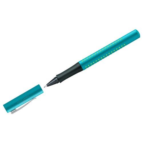 Faber-Castell Ручка капиллярная Grip 2010, синий цвет чернил ручка капиллярная faber castell grip finepen синяя трехгранная корпус черный 0 4 мм 151651