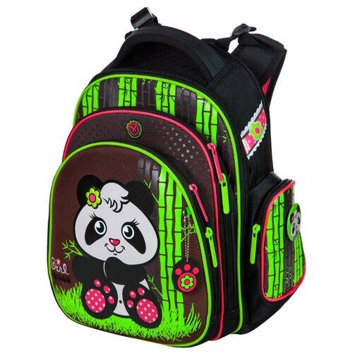 Hummingbird Рюкзак Girl Panda (TK40), черный / зеленый hummingbird рюкзак miss b t20 серый