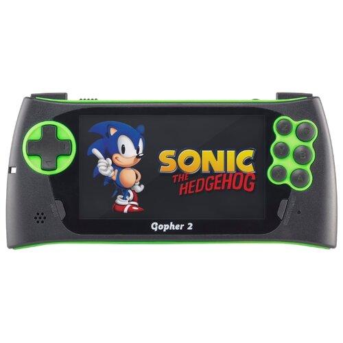Купить Игровая приставка SEGA Genesis Gopher 2 (700 игр) зеленый