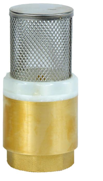 Обратный клапан пружинный AquamotoR AR111003 муфтовый (ВР/ВР), латунь