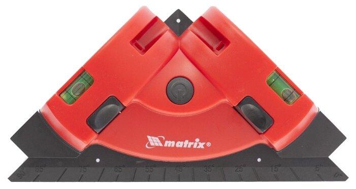 Лазерный уровень matrix маркер, угольник (35007)