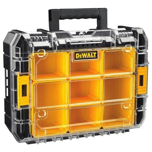 Органайзер DeWALT TSTAK DWST1-71194 44x34x14 см черный/желтый ящик для инструмента dewalt tstak tstak v dwst1 71194 с органайзером модульной системы хранения dwst1 71194