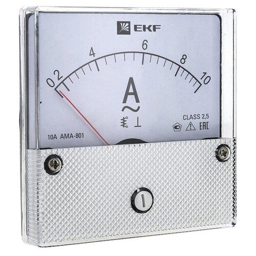 Амперметр для установки в щит EKF AMA-801-10