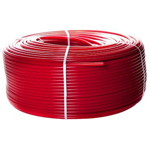 Труба из сшитого полиэтилена STOUT PE-Xa/EVOH 16, 200м 200 м красный