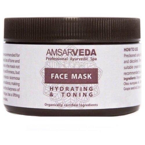 Amsarveda увлажняющая и тонизирующая маска, 150 г