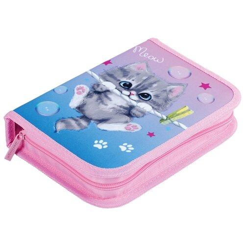 Купить Berlingo Пенал Meow kitty (PK06212) розовый, Пеналы
