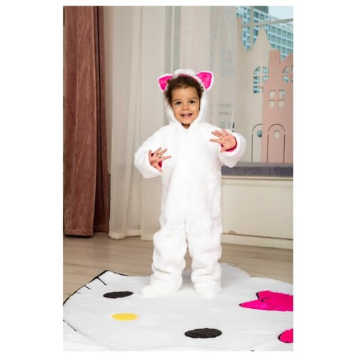 Костюм Baby-suit Котенок (DK17.1), белый, размер 62