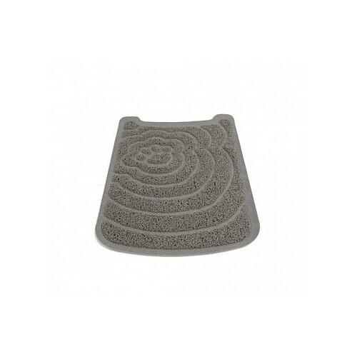 Коврик под туалет для кошек SAVIC Litter Tray Mat A2012 серый 1 шт.