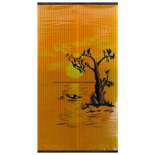 Инфракрасный обогреватель Бархатный сезон Закат оранжевый/желтый